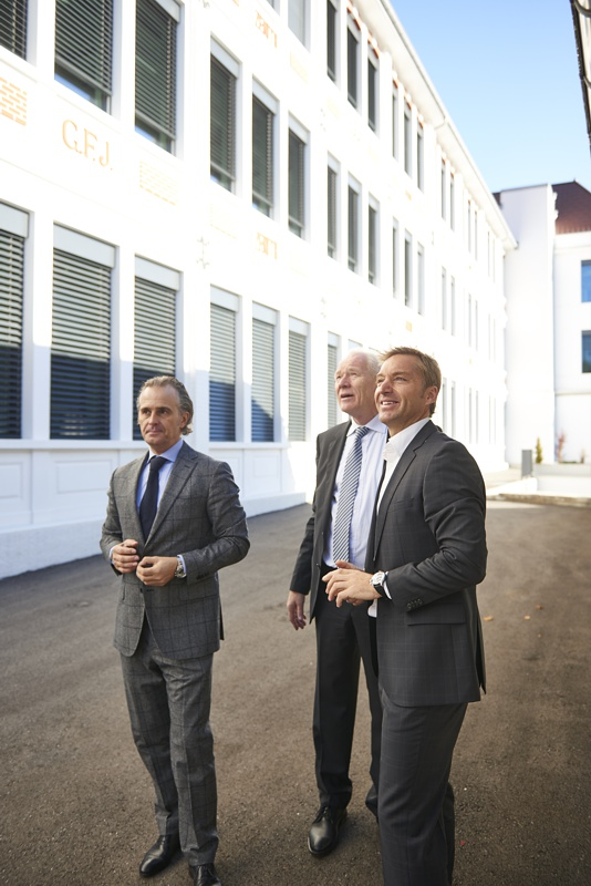 Alexander Seidl, CEO Austria and Eastern Europe und Paul Wirth (Dir. Of Hospitality)